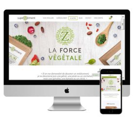 Site e-commerce www.superzaliment.com