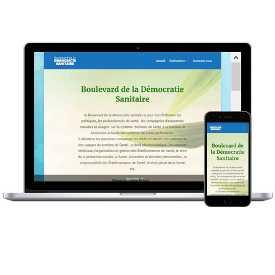 Site web www.democratie-sanitaire.com